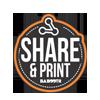 share & print